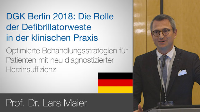 DGK Berlin 2018 Discuses with Prof. Dr. Lars Maier